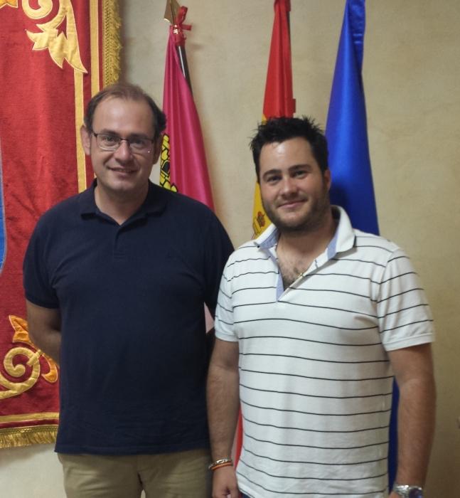 PRESIDENTE D. JAVIER SÁNCHEZ ROSELLÓ Y PRESIDENTE CESANTE D. ÓSCAR TOMÁS MARTÍNEZ
