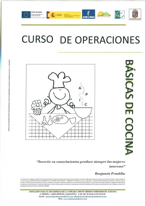 Curso de operaciones b sicas de cocina for Oficina virtual jccm